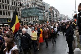 Protest - Belgium