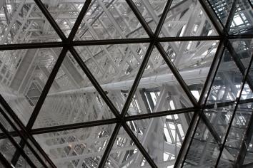 Inside Fukuoka Tower - Fukuoka, Japan