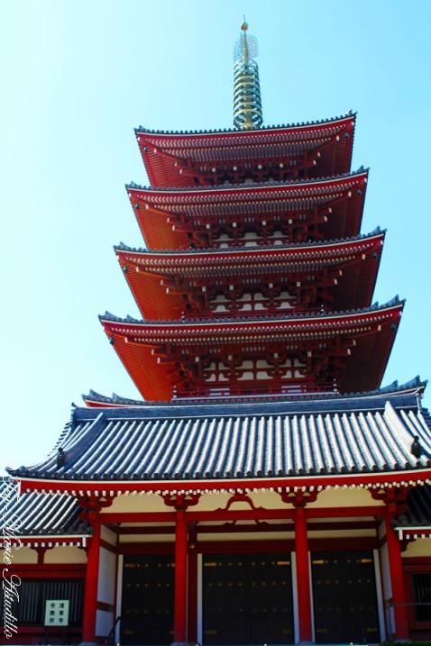sensoji_five storied pagoda copy
