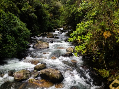 The Caldera River as seen from a hike to The Lost Waterfalls. © Tey-Marie Astudillo 2014.